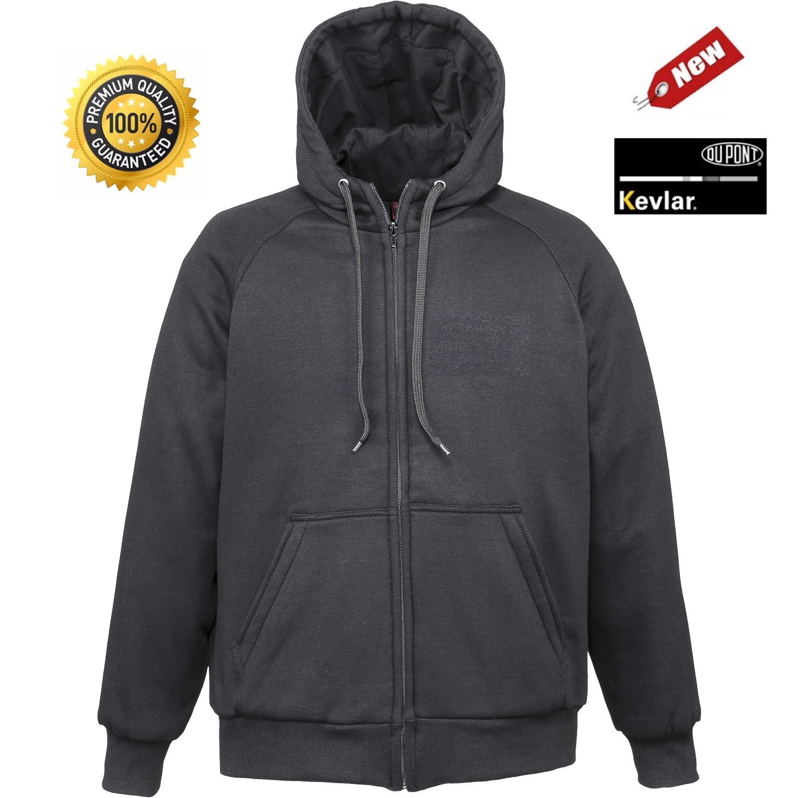 eff0cb8f9178c MRT 'ALPHA SUPER' Motorcycle Hoodie with Full Body Kevlar® Lining ...