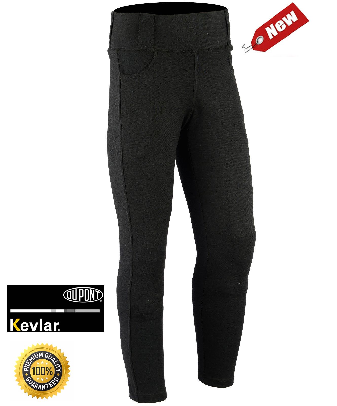 f6cf873cdd360 MRT 'VB-1916' Ladies Motorcycle Leggings with full Kevlar® Lining - The  Rider Team